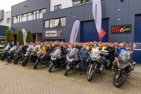 De Motards bij Intertraining